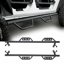 Running Board Wide Drop Side Step Nerf Bar For 2007-2018 Jeep Wrangler JK 4Door