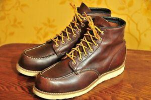 "Red Wing ""8138"" Briar Oil-Slick Classic Moc 6"" Toe Boots US 11D"