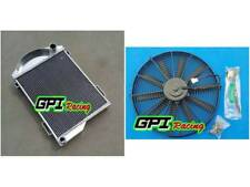 FOR AUSTIN HEALEY 3000 1959-1967 1960 1961 1962 aluminum radiator & FAN