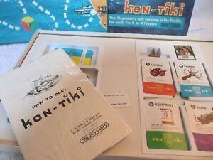 Vintage 1967 Kon-Tiki board game -  (Spear's Games)