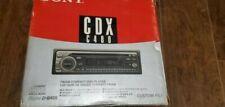 Sony Am-Fm Cd Car Radio Cdx-C480 D-Bass Changer Controller