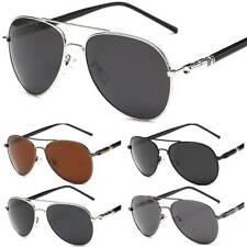 Polarized Pilot Sunglasses Men Women Vintage UV400 Sport Driving Mirror Glasses
