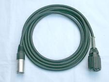 Tuchel adaptador cable großtuchel-XLR 2m cables del micrófono para Sennheiser md421, etc.