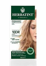 HERBATINT HERBAL NATURAL HAIR COLOUR DYE LIGHT COPPERISH BLONDE 10DR 150ml