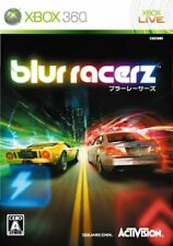 USED Xbox 360 blur Racers 06569 JAPAN IMPORT