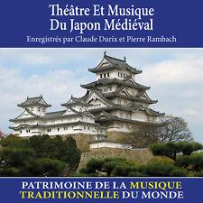 CD Théâtre et musique du Japon médiéval