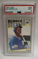 1989 Fleer KEN GRIFFEY JR. Rookie Baseball Card PSA 9 MINT HOF RC Mariners