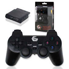 WIRELESS GAMEPAD | PC PS2 PS3 | Dual Vibration Controller | Gembird JPD WDV-01