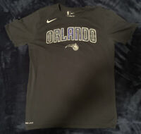 Mens Nike Orlando Magic Galaxy Lettering T Shirt Size M Dri Fit
