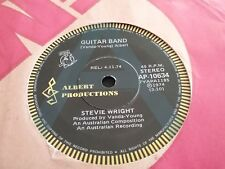 "STEVIE WRIGHT GUITAR BAND HARD ROAD  A PROMO 45 7"" AUSTRALIA ALBERT PRODUCTIONS"