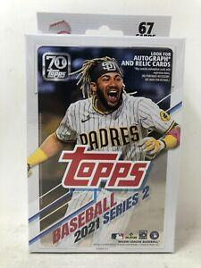 2021 Topps Series 2 Baseball Hanger Box (Factory-sealed) 67 Cards! IN HAND!