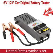 6/12V Car Battery Tester Automotive Conductance Testing Analyzer Diagnostic Tool
