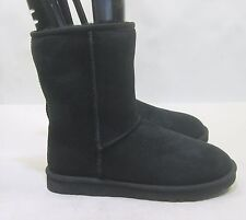 UGG Men's CLASSIC SHORT BLACK   Model: 5800  size  8