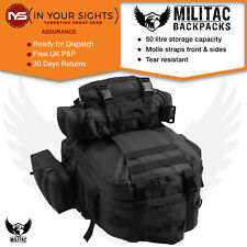 50L Molle Tactical 3 Day Assault Military Rucksack / Army Backpack / Camping bag