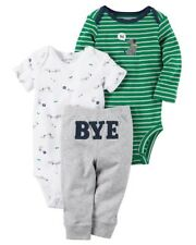 Carters Baby Boy's 3-Piece Little Character DOG HI/BYE Set CHECK FOR SIZE