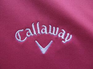 Callaway Odyssey Magenta Golf Shirt (M) OMG! ⛳️