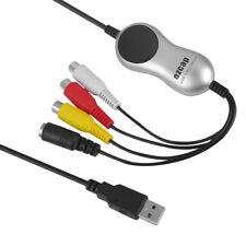 I37 USB 2.0 Audio Video Grabber AV S-Video digital Übertragung über PC Laptop