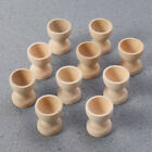 12pcs Wooden Egg Holder Household Kitchen Eggs Holding Cups Tabletop Refrigerato