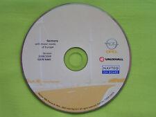 NAVIGATION OPEL CD 70 NAVI DEUTSCHLAND 2009 ZAFIRA B ASTRA H CORSA SIGNUM MERIVA
