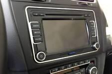 D VW Passat 3C Chrom Rahmen für Radio Edelstahl poliert