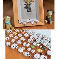 3D DIY Cute Panda Diary Album Scrapbooking Memo Pad Bubble Sticker Decoration.