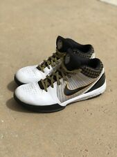 OG 2009 Nike Zoom Kobe 4 IV POP Playoff White Black Del Sol 354187-101 Size 11