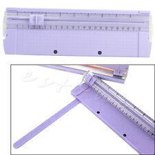 A4 Precision Paper Card Trimmer Ruler Photo Cutter Cutting Blade Office Kit