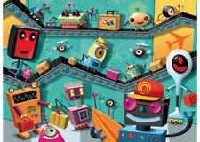 Ravensburger - Robots Puzzle 100pc
