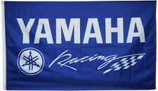 Yamaha Factory Racing Team Flag Motorcycle Bike Moto GP 3x5ft banner US Shipper