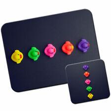 Multi Coloured Ducks Mouse Mat / Pad & Coaster