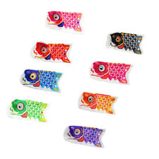 MagiDeal 8pcs Japonais Windsock Drapeau KoiNobori Sailfish poissons vent