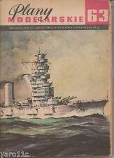 """Russian battleship """"October Revolution""""- Plans of Warships/Baupläne"""