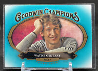 2020 Upper Deck Goodwins Champions Wayne Gretzky Teal Hockey