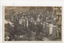 Radcliffe Procession Blackburn Street / Stand Lane RP Postcard Halliwell 388b