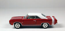 Johnny Lightning '69 Dodge Dart GTS Red w white top No Package