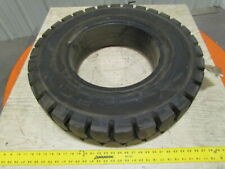 """All Pro 7.00-15 Rim 5.5"""" Solid Pneumatic Traction Style Forklift Tire New"""
