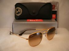 Ray Ban 3557 Light Bronze w Pink Brown Gradient Lens (RB3557 9001A5 51 mm size)