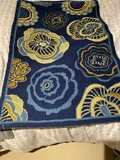 NEW Safavieh Four Seasons Navy Floral Polyester Area Rug 2' 6 x 4'