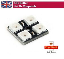 WS2812B 5 V 5050 RGB DEL Lampe Panneau Board 4 Bit précise pour Arduino Raspberry Pi