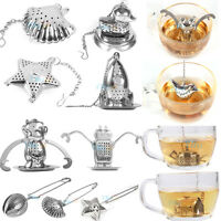 Tea Infuser Ball Mesh Loose Leaf Herb Strainer Stainless Steel Filter Diffuser