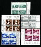 Switzerland Stamps # B232-6 VF Block 4 OG NH Scott Value $52.00