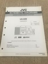 JVC UX S59 service manual For Micro Component System