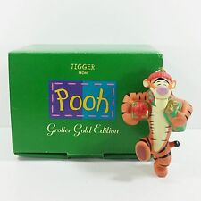 Disney Grolier Porcelain Treasure Gold Edition Ornament - Tigger Extremely Rare