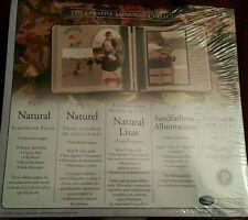 Creative Memories 7 x 7 Natural scrapbooking page refills