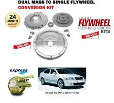SKODA octavia 2004 & gt & GT1.9 TDI nouveau borg+beck double masse pour unique flywheel+clutch Kit