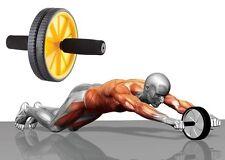 cc Attrezzo Ruota Per Allenamento Muscoli Addominali Plank Palestra Fitness dfh