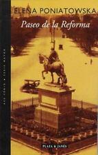 Paseo de la Reforma (Spanish Edition), Poniatowska, Elena, 0553060627, Book, Goo