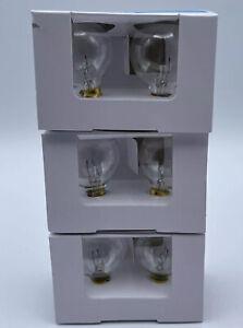 Globe Light Bulbs G40 Replacement Bulbs 5 Watt Clear 3 Two Packs (6 Total)