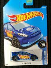 Hot Wheels Race Team 2012 Ford Fiesta Drift Car - Blue
