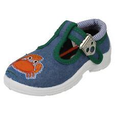 Scarpe blu con fibbia per bambini dai 2 ai 16 anni